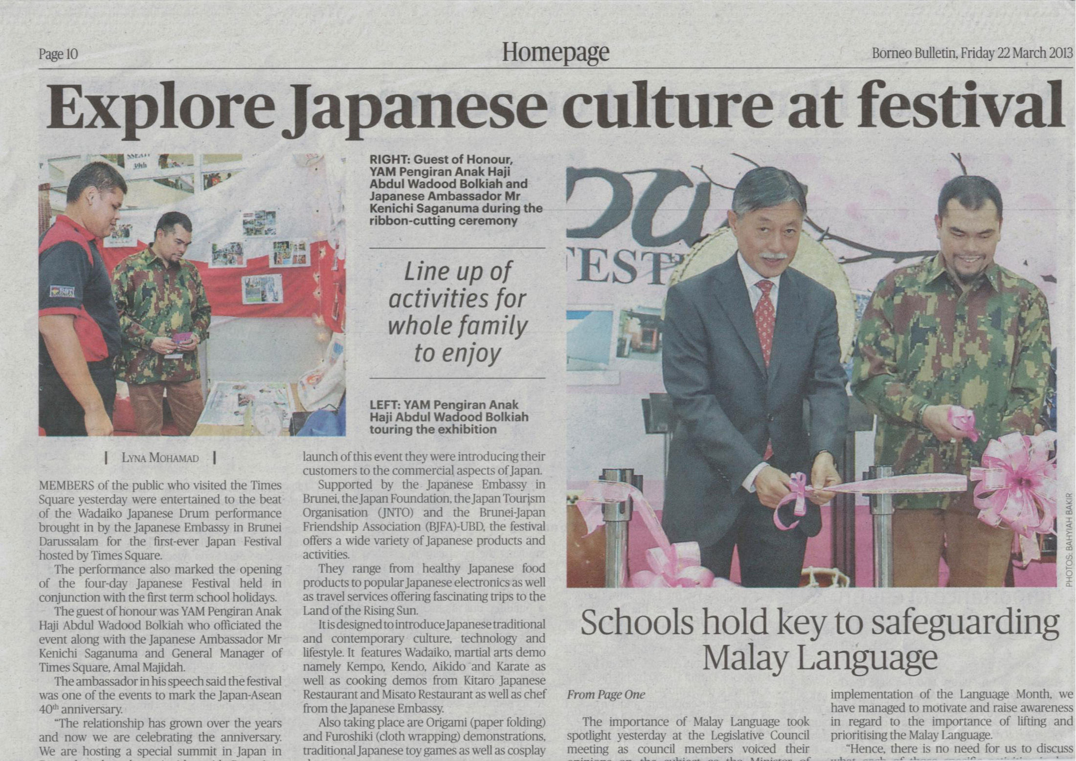Borneo Bulletin Friday 22 March 2013
